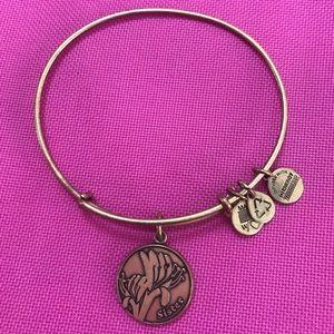 Alex and Ani gold Sister bracelet